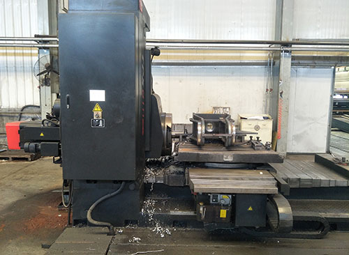 Horizontal milling and boring machine-TPX6111